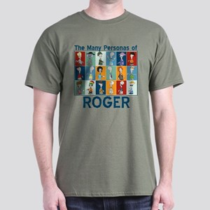 American Dad Roger Personas Dark T-Shirt