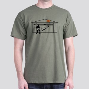 Pizza On Roof Breaking Bad T-Shirt