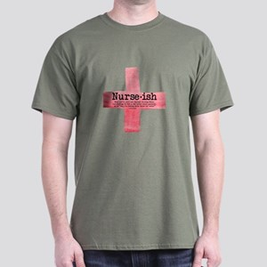 Nurse ish Student Nurse Dark T-Shirt