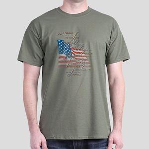 US Pledge - Dark T-Shirt