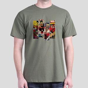 Falcon Comic Panel Dark T-Shirt