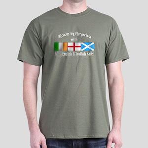 Irish-English-Scottish Dark T-Shirt