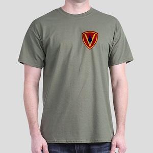 5th Marine Division T-Shirt (Dark)