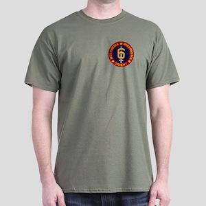 6th Marine Division T-Shirt (Dark)