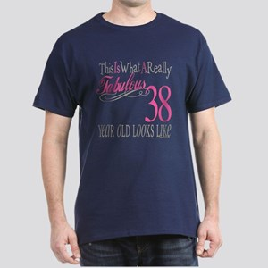 38th Birthday Gifts Dark T-Shirt