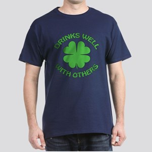 Drinks Well with Others Dark T-Shirt