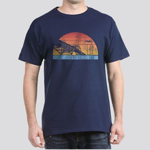 Vintage Bay View Dark T-Shirt