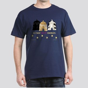 Nothin' Butt Cockers Navy T-Shirt