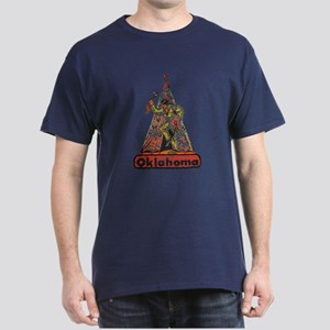 Vintage Oklahoma Indian Dark T-Shirt