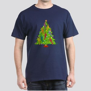Trumpet Christmas Dark T-Shirt
