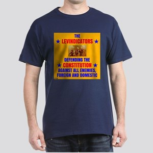 LEVS DEFENDING CONSTITUTION (dark shirts) T-Shirt