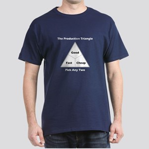 The Production Triangle Dark T-Shirt