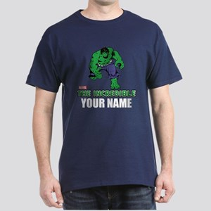 The Incredible Hulk Personalized Desi Dark T-Shirt