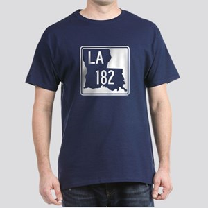 Route 182, Louisiana Dark T-Shirt