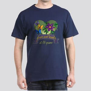 38th Birthday Beauty Dark T-Shirt