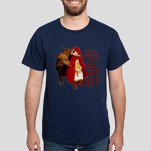 Who's Afraid of the Big Bad Wolf Dark T-Shirt