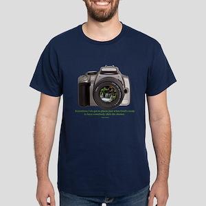 Nature Photographer Dark T-Shirt