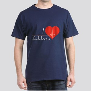 I love Addison Dark T-Shirt