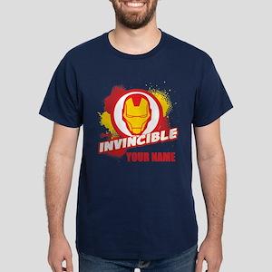 Avengers Assemble Iron Man Personaliz Dark T-Shirt