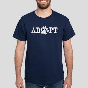 Adopt an Animal Dark T-Shirt