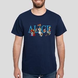 ALICE & FRIENDS IN WONDERLAND Dark T-Shirt
