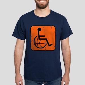 Handicapable Basketball Dark T-Shirt