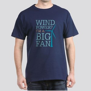 Wind Power Big Fan Dark T-Shirt