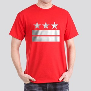 3 Stars and 2 Bars Dark T-Shirt