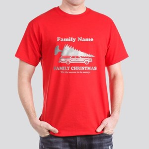 52c58a9ecd Personalized Griswold Family Christmas T-Shirt