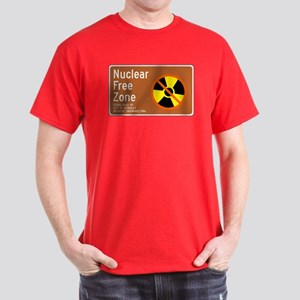 Nuclear Free Zone, USA Dark T-Shirt