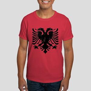 Albanian Eagle Emblem Dark T-Shirt