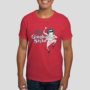 Gingham Style Dark T-Shirt