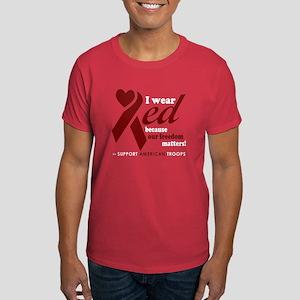 Wear Red Friday Dark T-Shirt