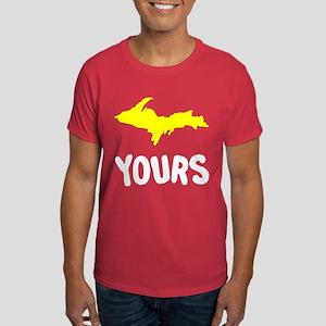 UP Upper Peninsula Michigan Dark T-Shirt