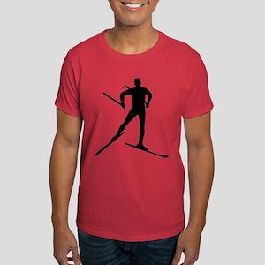 Cross-country skiing Dark T-Shirt