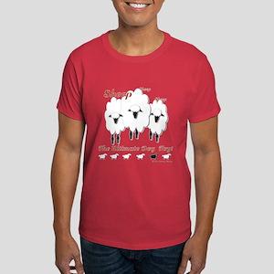 Sheep Dog Toy Black T-Shirt