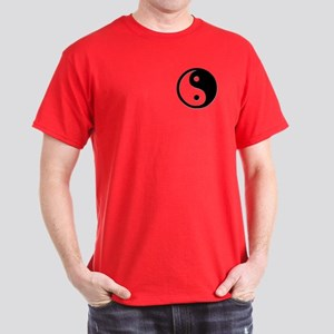 Black Yin Yang Dark T-Shirt