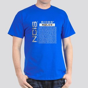 NCIS Gibbs Rules T-Shirt