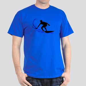 Wave Surfing Dark T-Shirt