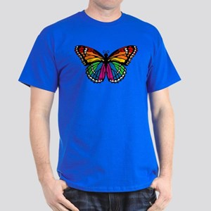Rainbow Butterfly Dark T-Shirt