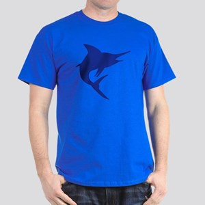 Blue Marlin Fish Dark T-Shirt