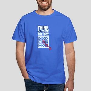 Think Outside the Box Dark T-Shirt