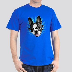Cute! Hipster Boston Terrier T-Shirt