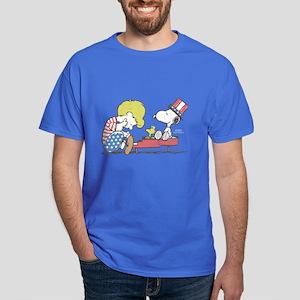 Snoopy - Vintage Schroeder Dark T-Shirt