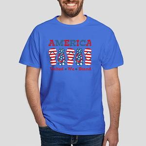 Flip Flop America Dark T-Shirt