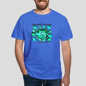 Emerald Princess Island Gems - Dark T-Shirt