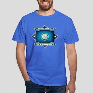 South Dakota Diamond Dark T-Shirt
