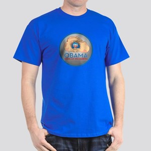 Obama Sign of Progress Dark T-Shirt