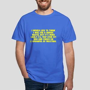 Heroic Death Dog Dark T-Shirt
