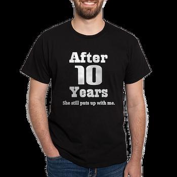 d5e711731 10th Anniversary Funny Quote T-Shirt > Funny 10th Anniversary Quote ...